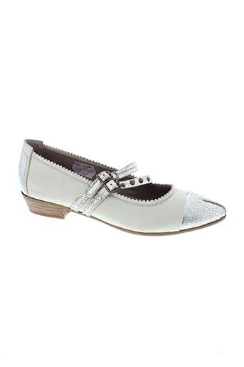 spiral chaussures femme de couleur beige