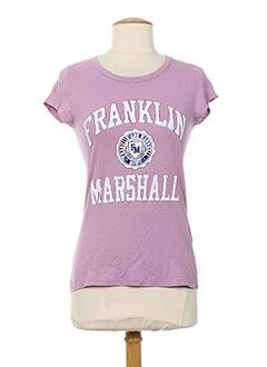 Produit-T-shirts-Femme-FRANKLIN MARSHALL