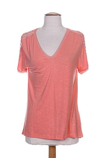 an' ge t-shirts femme de couleur rose