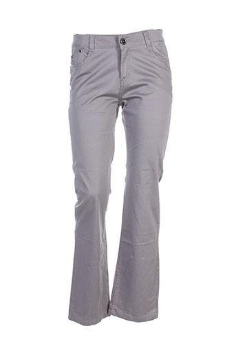 eylex pantalons femme de couleur gris