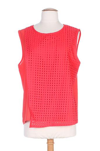 coquelicot chemises femme de couleur rouge