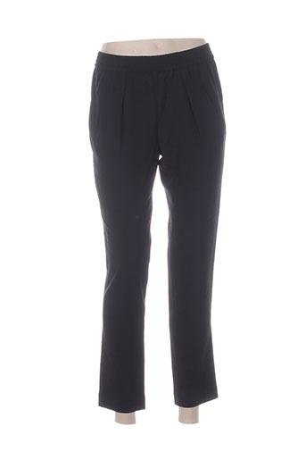 frenchtrotters pantalons femme de couleur noir