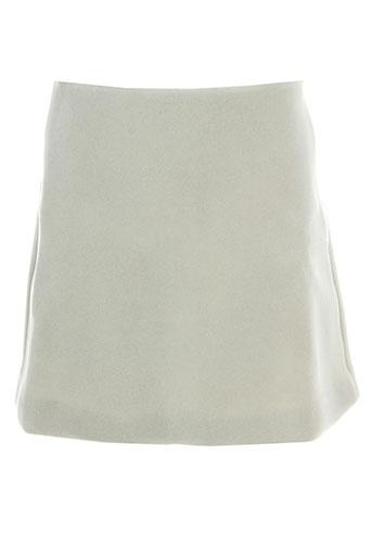 Jupe courte beige AMERICAN RETRO pour femme