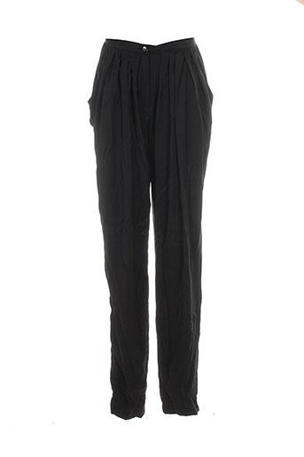 Pantalon casual noir VERO MODA pour femme