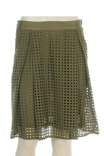 Jupe mi-longue vert BY MALENE BIRGER pour femme