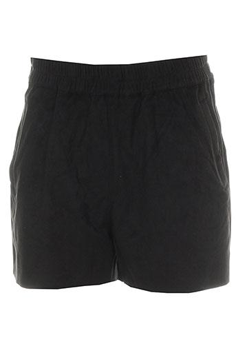 minimum shorts / bermudas femme de couleur noir