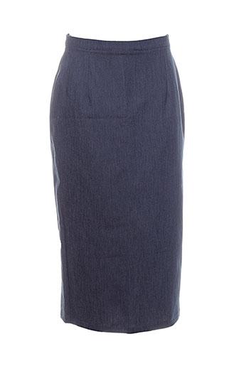 Jupe mi-longue bleu EROTOKRITOS pour femme