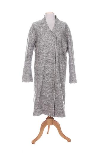 numph manteaux femme de couleur gris