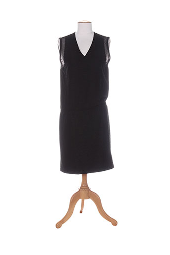 Robe mi-longue noir CUSTOMMADE pour femme