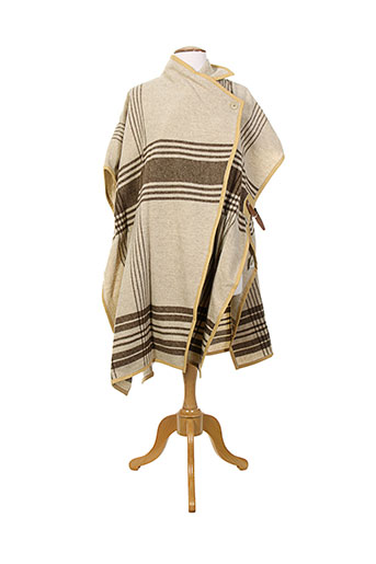 malene birger vestes femme de couleur beige