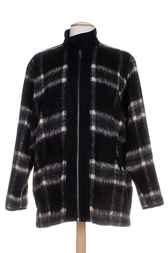 custommade manteaux femme de couleur noir
