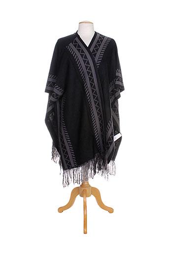 vero et moda ponchos femme de couleur noir