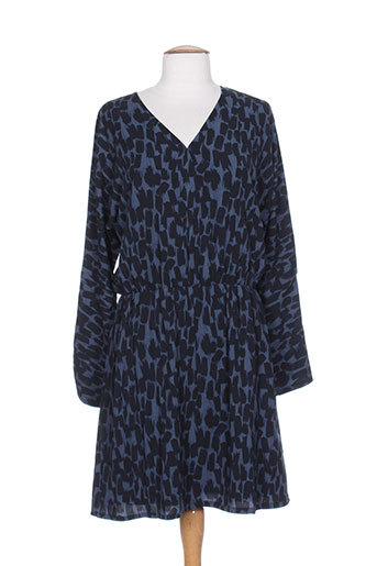 ichi robes femme de couleur bleu