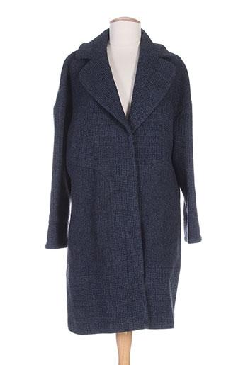 kookai manteaux femme de couleur bleu