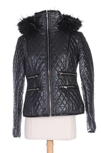 derhy manteaux femme de couleur noir