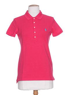 Produit-T-shirts / Tops-Femme-RALPH LAUREN