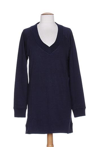 only pull et tuniques femme de couleur bleu