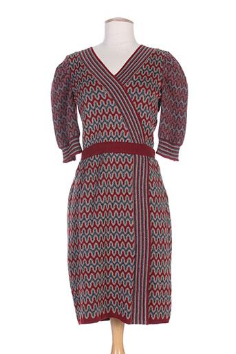 erotokritos robes femme de couleur rouge