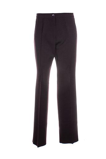 Pantalon casual violet CAROLINE ROHMER pour femme