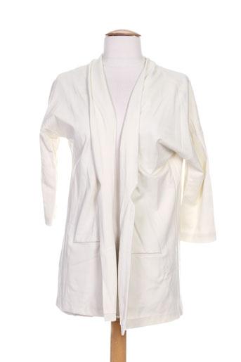 ninati vestes femme de couleur blanc