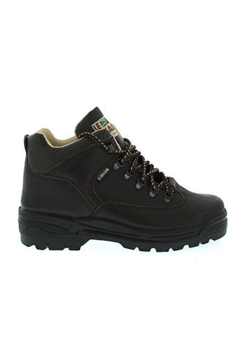 le et chasseur boots homme de couleur marron