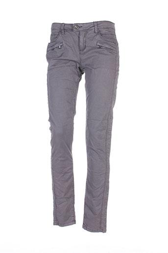 street et one pantalons et decontractes femme de couleur gris