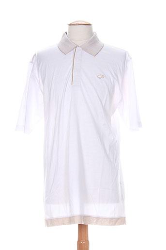 partner's t-shirts homme de couleur blanc