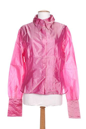 partner's chemises femme de couleur rose