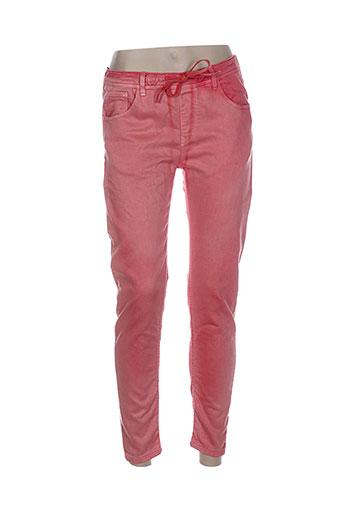 indi EFFI_CHAR_1 cold pantalons femme de couleur rose