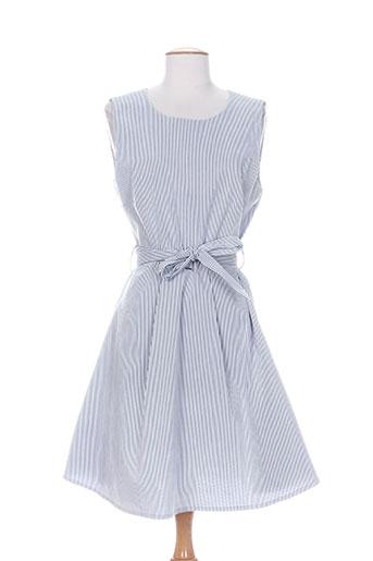 artigli robes femme de couleur bleu
