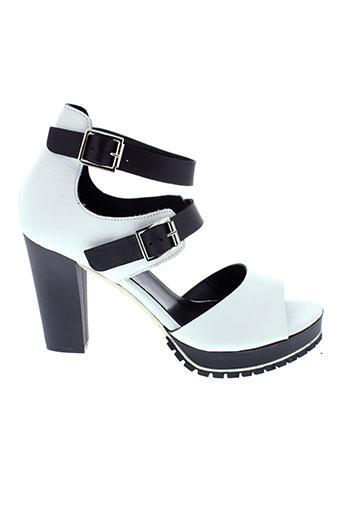peperosa sandales et nu et pieds femme de couleur blanc