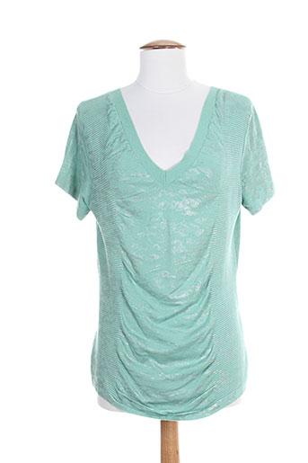 eva kayan chemises femme de couleur vert