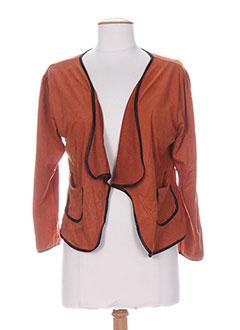 Veste femme couleur orange