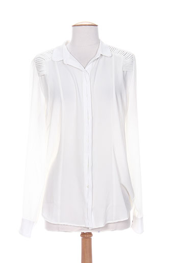 exetera chemises femme de couleur beige