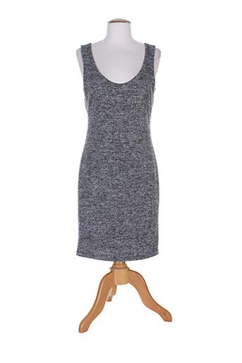 fifilles robes femme de couleur gris