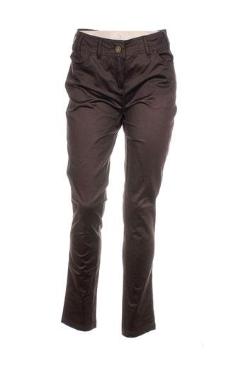 salt et pepper pantalons et decontractes femme de couleur marron