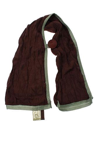 ganteb's accessoires femme de couleur marron