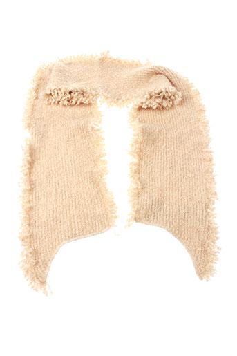 ganteb's accessoires femme de couleur beige