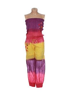 Combi-pantalon violet GOA pour femme