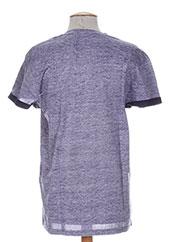 T-shirt manches courtes violet RELAY JEANS pour homme seconde vue