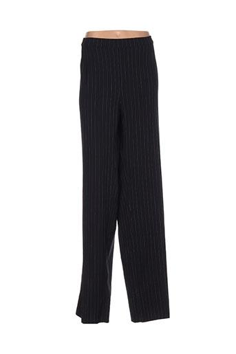 marina et rinaldi pantalons et decontractes femme de couleur noir