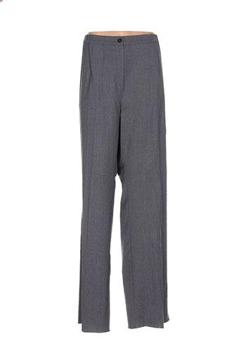 marina et rinaldi pantalons et decontractes femme de couleur gris