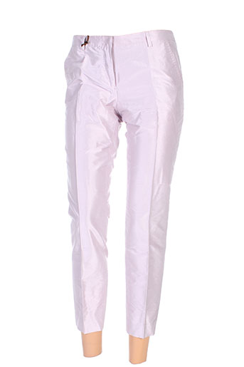 seventy pantalons femme de couleur rose