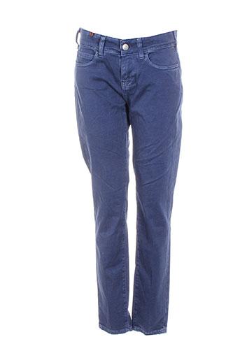 notify pantalons femme de couleur bleu