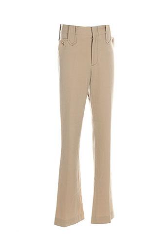 ralph lauren pantalons femme de couleur beige