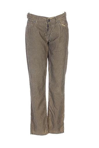 Pantalon casual vert FOR ALL MANKIND pour femme