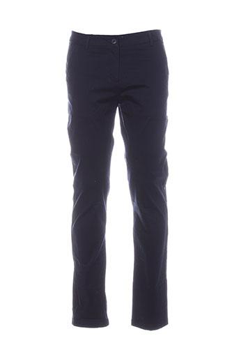 vila pantalons et decontractes homme de couleur bleu