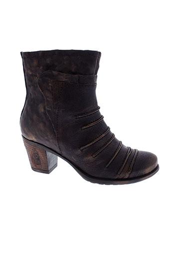 papucei chaussures femme de couleur noir