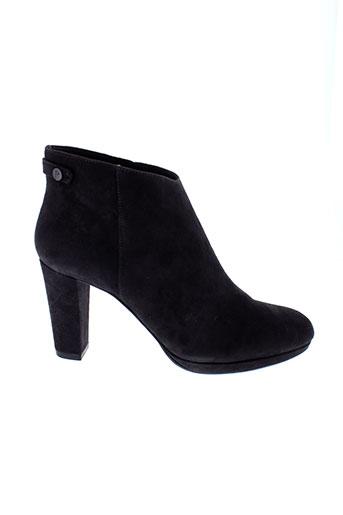 jb et martin boots femme de couleur gris