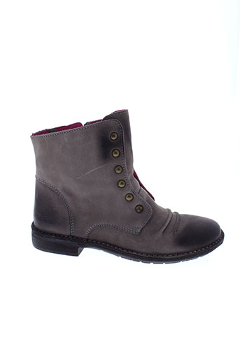 kickers boots femme de couleur marron